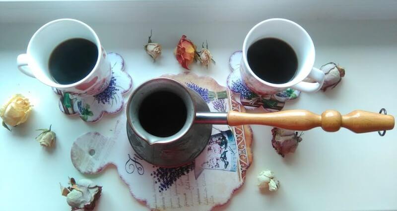 В какой турке варить кофе