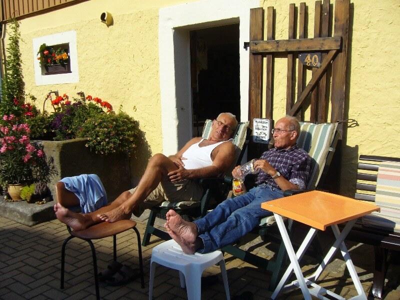 Общаться на пенсии