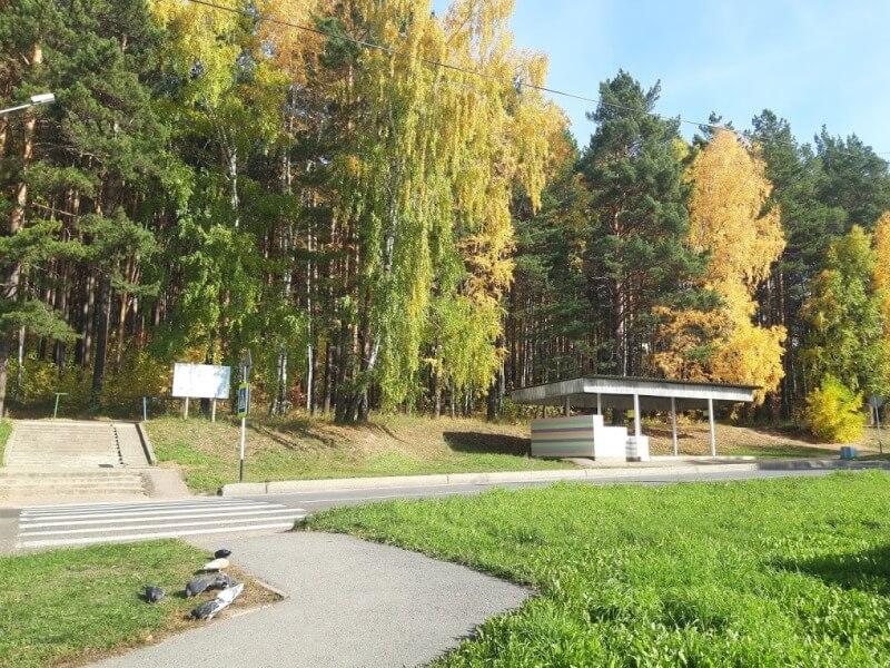 Осень в маленьком городке