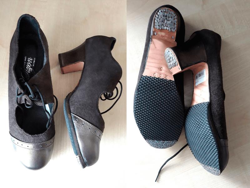 Женские туфли для фламенко